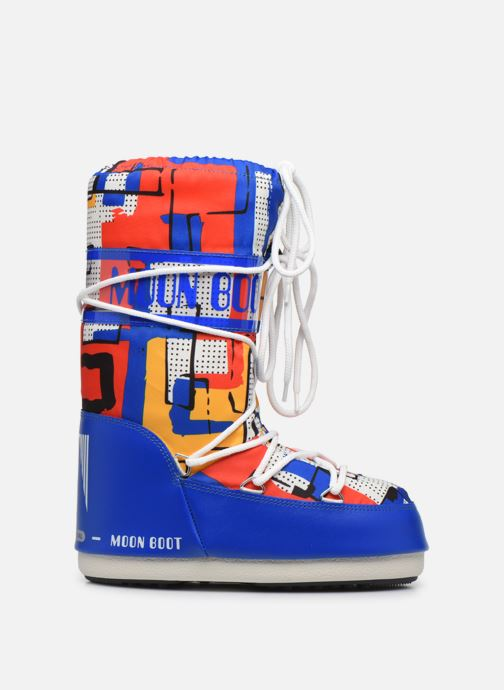 Chaussures de sport Moon Boot Moon Boot Jr Boy Abstract Bleu vue derrière