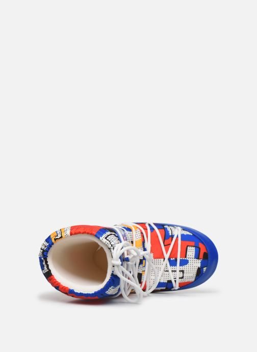 Chaussures de sport Moon Boot Moon Boot Jr Boy Abstract Bleu vue gauche