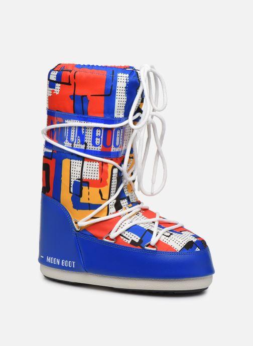 Scarpe sportive Moon Boot Moon Boot Jr Boy Abstract Azzurro vedi dettaglio/paio