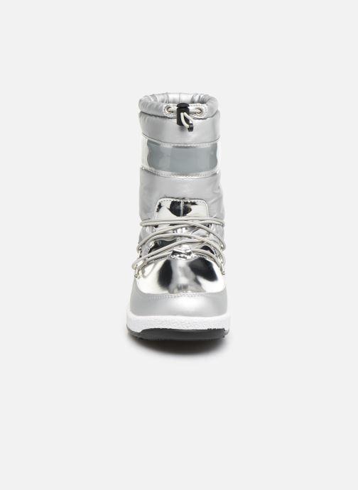 Zapatillas de deporte Moon Boot Moon Boot J Girl Soft Wp Plateado vista del modelo