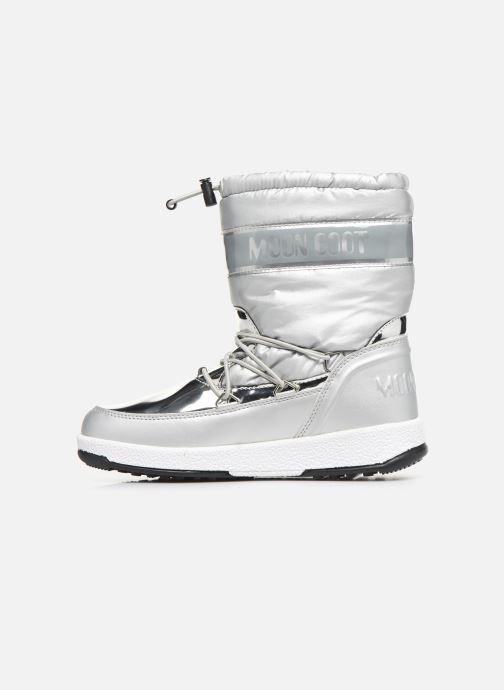 Zapatillas de deporte Moon Boot Moon Boot J Girl Soft Wp Plateado vista de frente