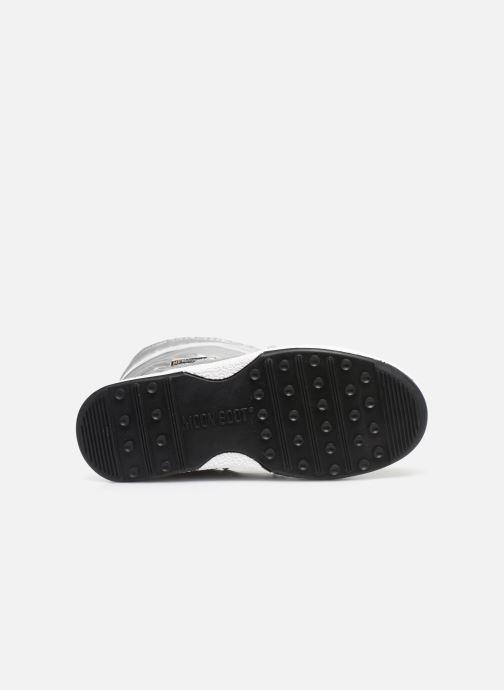 Zapatillas de deporte Moon Boot Moon Boot J Girl Soft Wp Plateado vista de arriba