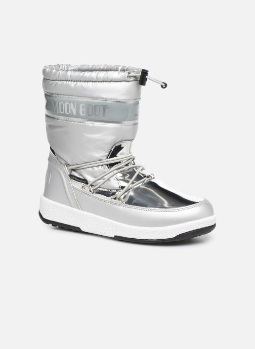 Zapatillas de deporte Moon Boot Moon Boot J Girl Soft Wp Plateado vista de detalle / par
