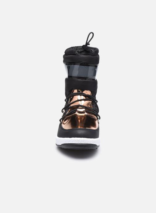 Chaussures de sport Moon Boot Moon Boot J Girl Soft Wp Noir vue portées chaussures