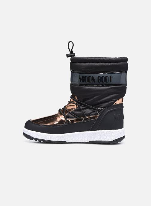 Chaussures de sport Moon Boot Moon Boot J Girl Soft Wp Noir vue face