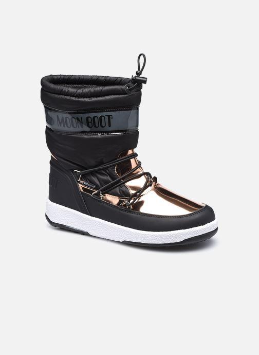 Chaussures de sport Moon Boot Moon Boot J Girl Soft Wp Noir vue détail/paire