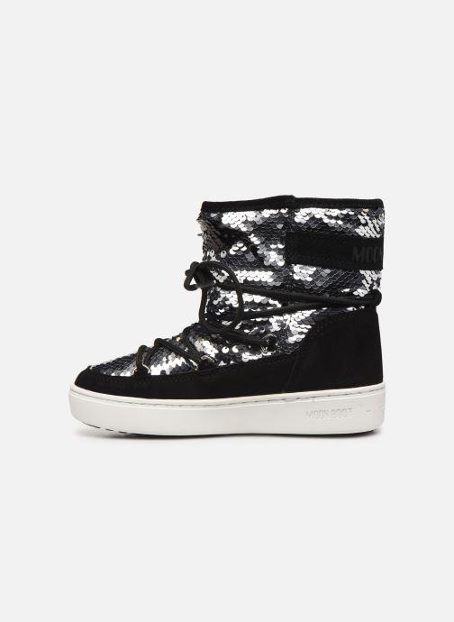 Chaussures de sport Moon Boot Moon Boot Pulse Mid Jr Girl Disco Noir vue face