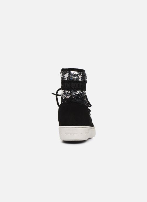 Chaussures de sport Moon Boot Moon Boot Pulse Mid Jr Girl Disco Noir vue droite
