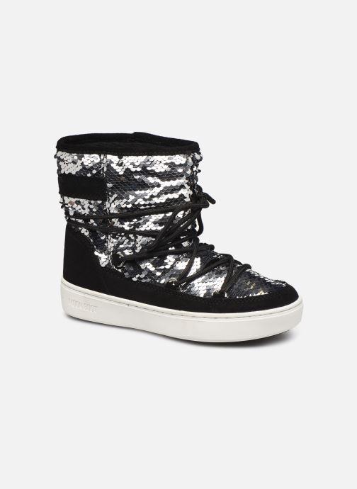 Chaussures de sport Moon Boot Moon Boot Pulse Mid Jr Girl Disco Noir vue détail/paire