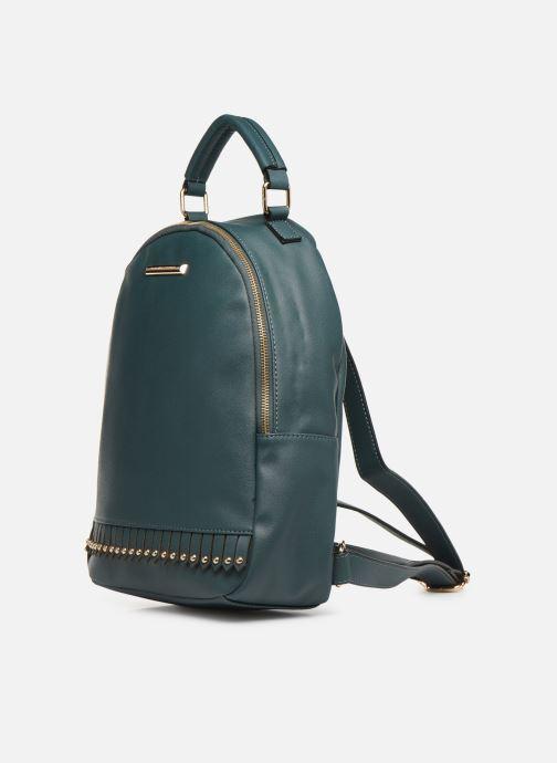 Mochilas Dorothy Perkins Fringe Stud Backpack Verde vista del modelo