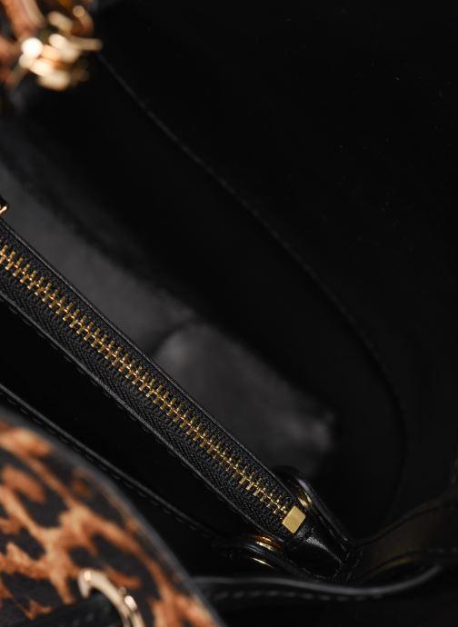 Handtaschen Michael Michael Kors SMALL CONVERTIBLE BUCKET SHOULDER MERCER GALLERY braun ansicht von hinten