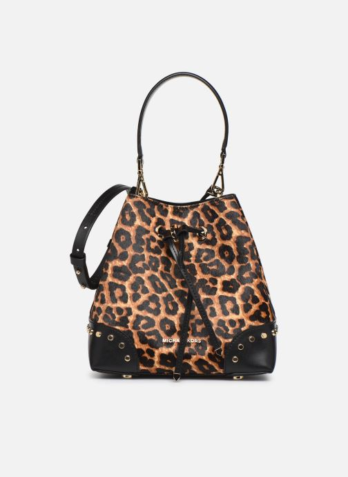 Handtaschen Michael Michael Kors SMALL CONVERTIBLE BUCKET SHOULDER MERCER GALLERY braun detaillierte ansicht/modell