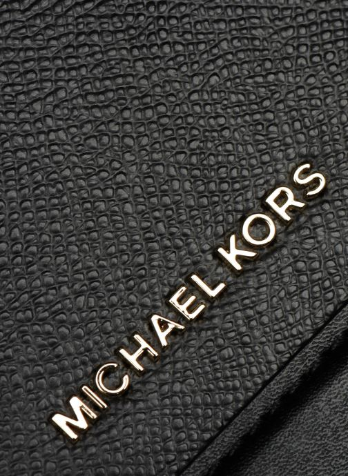 Sacs à main Michael Michael Kors LG FULL FLAP CHAIN CROSSBODY Noir vue gauche