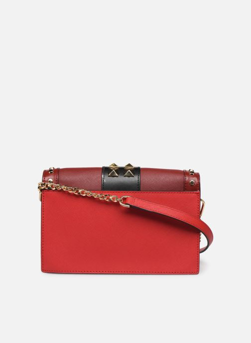 Sacs à main Michael Michael Kors LG FULL FLAP CHAIN CROSSBODY Rouge vue face