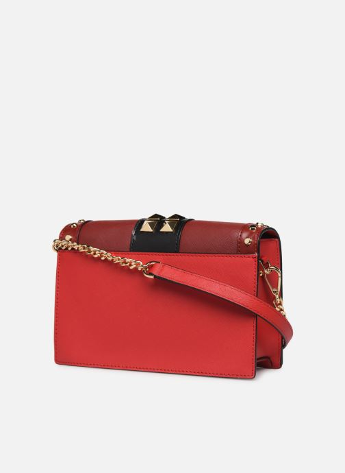 Sacs à main Michael Michael Kors LG FULL FLAP CHAIN CROSSBODY Rouge vue droite