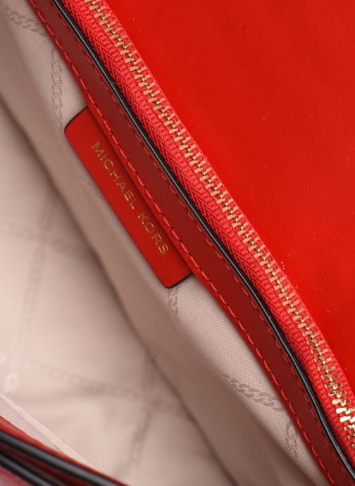 Sacs à main Michael Michael Kors LG FULL FLAP CHAIN CROSSBODY Rouge vue derrière