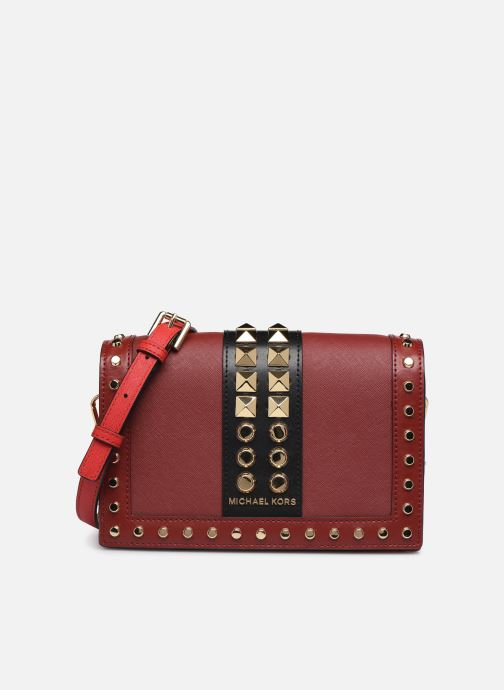 Sacs à main Michael Michael Kors LG FULL FLAP CHAIN CROSSBODY Rouge vue détail/paire