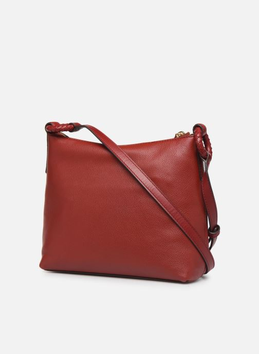 Sacs à main Michael Michael Kors LEXINGTON LG CROSSBODY Rouge vue droite