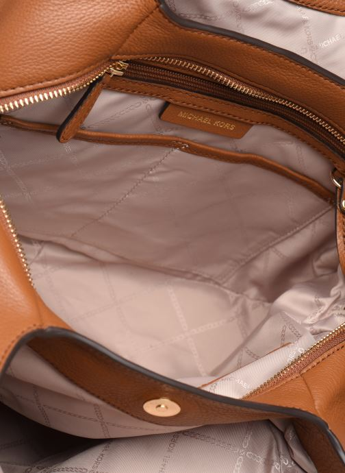Handtaschen Michael Michael Kors LILLIE LG CHAIN SHOULDER TOTE braun ansicht von hinten
