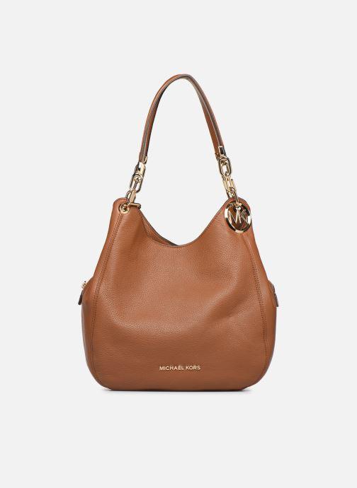 Handtaschen Michael Michael Kors LILLIE LG CHAIN SHOULDER TOTE braun detaillierte ansicht/modell