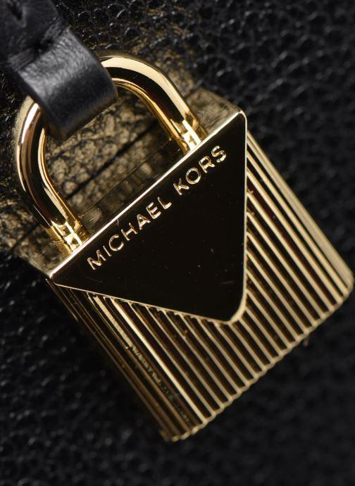 Sacs à main Michael Michael Kors ARIELLE LG SATCHEL Noir vue gauche