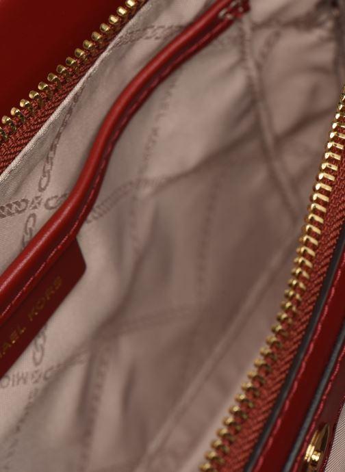 Bolsos de mano Michael Michael Kors JET SET LG CHAIN CONVERTIBLE CROSSBODY Rojo vistra trasera