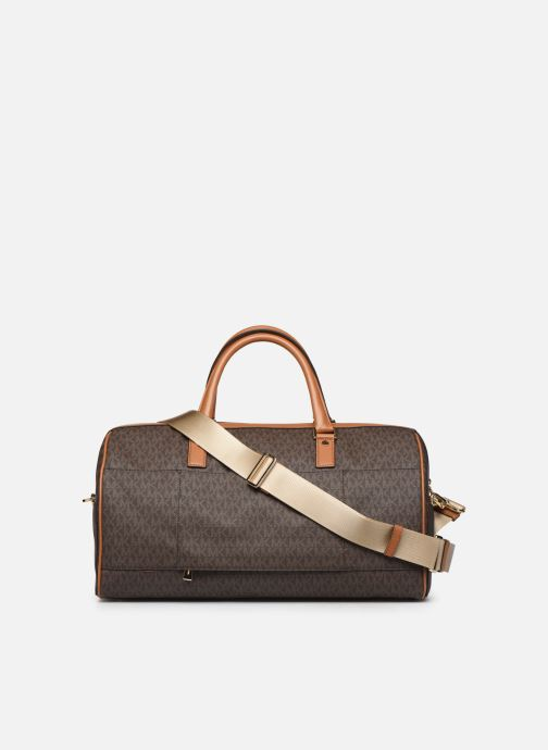 Equipaje  Michael Michael Kors LG WEEKENDER DUFFLE SATCHEL BEDFORD TRAVEL Marrón vista de frente