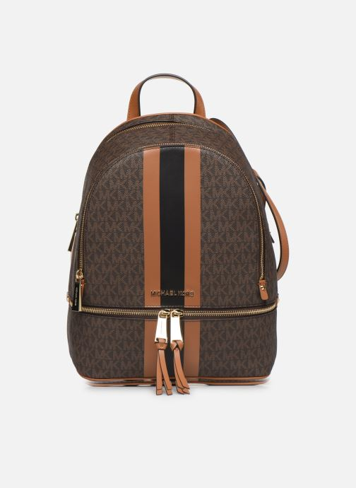 Rugzakken Michael Michael Kors RHEA ZIP MIDIUM BACKPACK Bruin detail