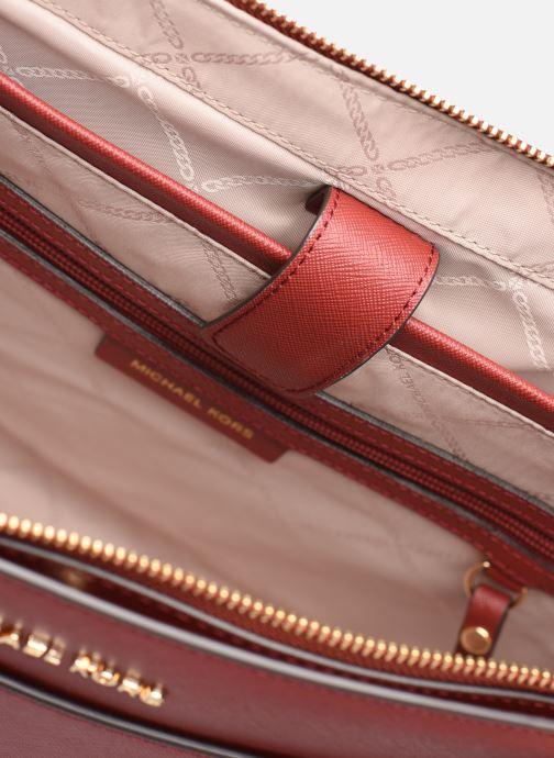 Handtaschen Michael Michael Kors VOYAGER LG EW TZ TOTE rot ansicht von hinten