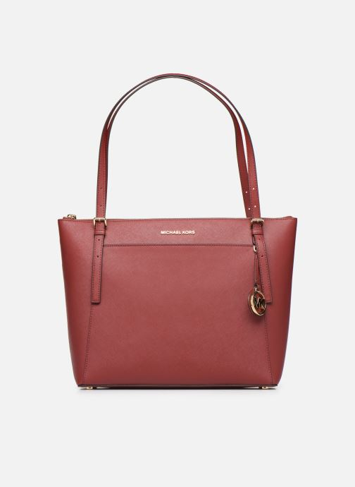 Handtaschen Michael Michael Kors VOYAGER LG EW TZ TOTE rot detaillierte ansicht/modell