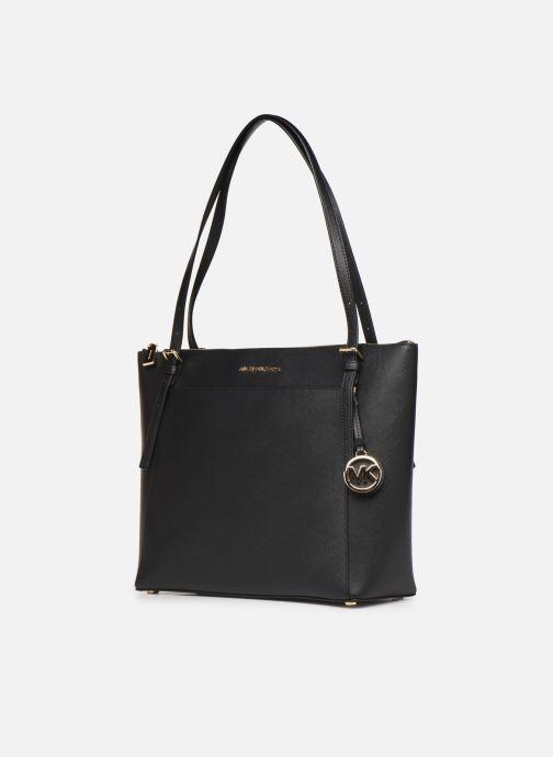 Handtaschen Michael Michael Kors VOYAGER LG EW TZ TOTE schwarz schuhe getragen