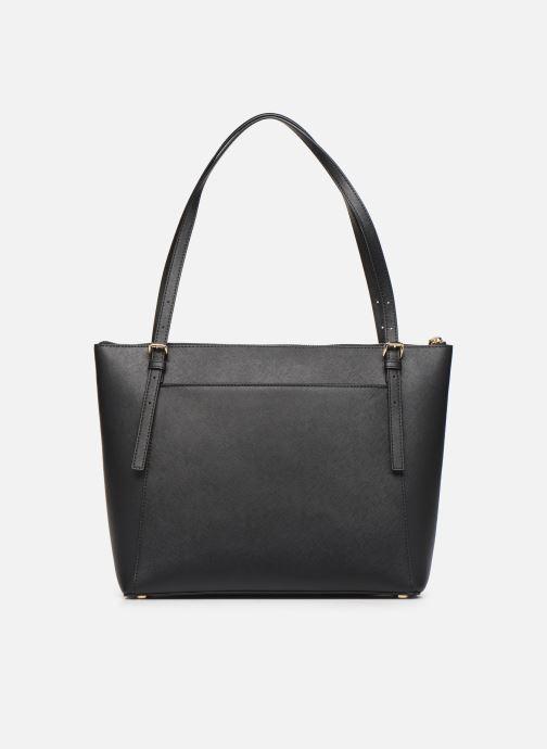 Handtaschen Michael Michael Kors VOYAGER LG EW TZ TOTE schwarz ansicht von vorne