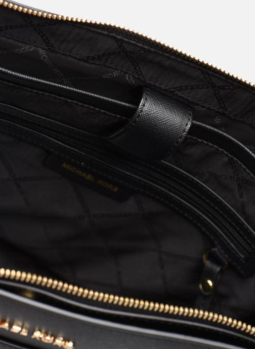 Handtaschen Michael Michael Kors VOYAGER LG EW TZ TOTE schwarz ansicht von hinten