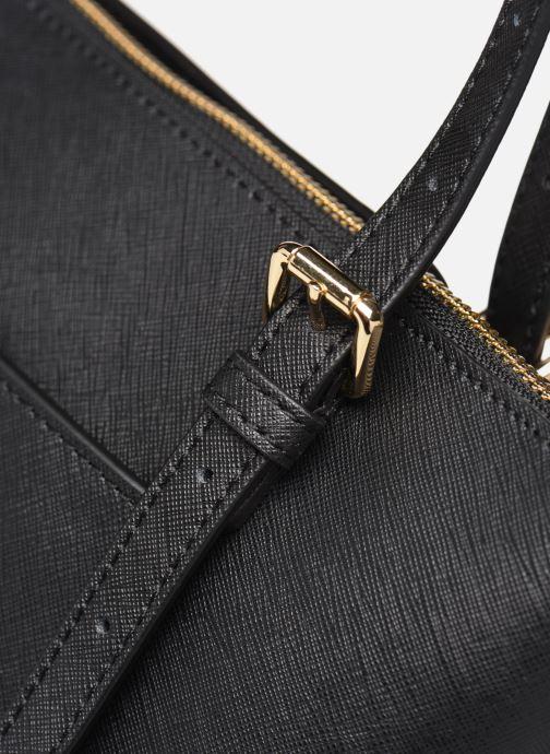 Handtaschen Michael Michael Kors VOYAGER LG EW TZ TOTE schwarz ansicht von links
