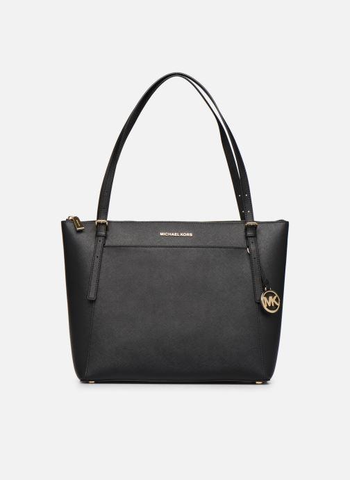 Handtaschen Michael Michael Kors VOYAGER LG EW TZ TOTE schwarz detaillierte ansicht/modell