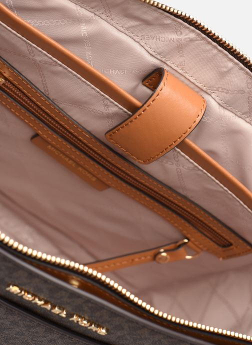Handtassen Michael Michael Kors VOYAGER LG EW TZ TOTE Bruin achterkant
