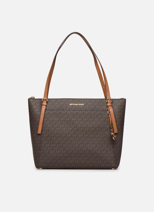 Handtaschen Michael Michael Kors VOYAGER LG EW TZ TOTE braun detaillierte ansicht/modell