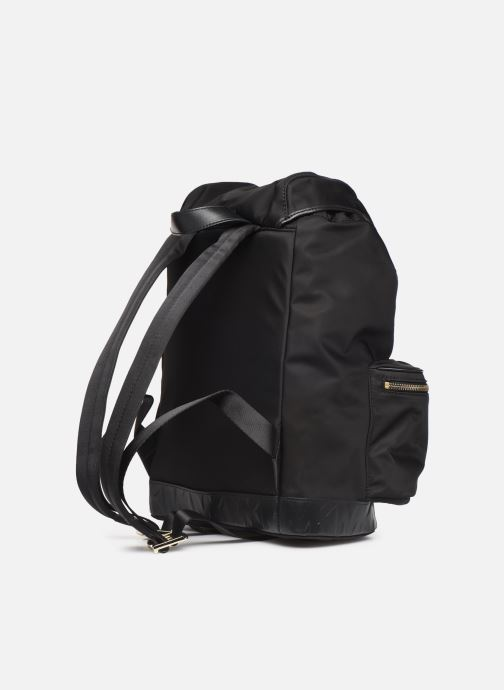 Mochilas Michael Michael Kors PERRY LG FLAP BACKPACK Negro vista lateral derecha