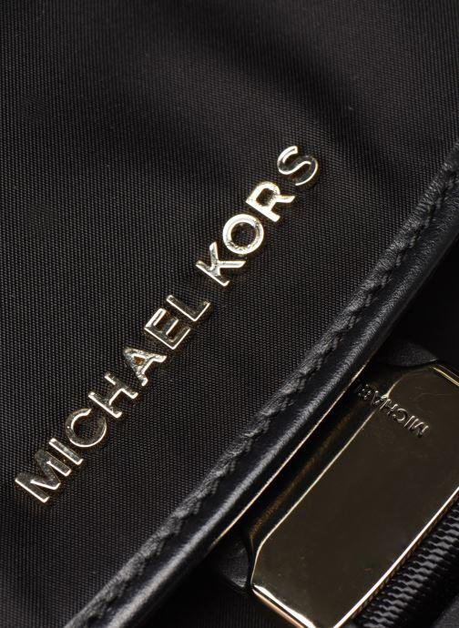 Sacs à dos Michael Michael Kors PERRY LG FLAP BACKPACK Noir vue gauche