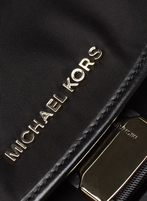 Mochilas Michael Michael Kors PERRY LG FLAP BACKPACK Negro vista lateral izquierda