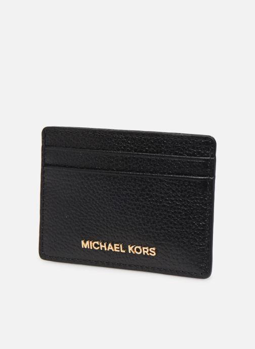 Marroquinería pequeña Michael Michael Kors CARD HOLDER Negro vista del modelo