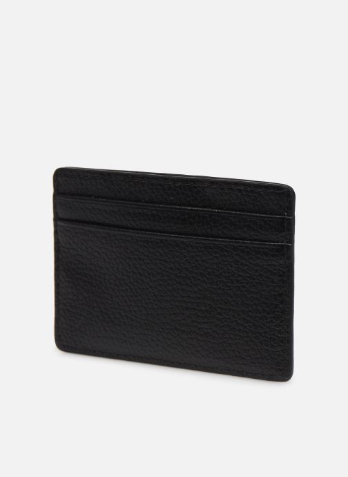 Marroquinería pequeña Michael Michael Kors CARD HOLDER Negro vista lateral derecha