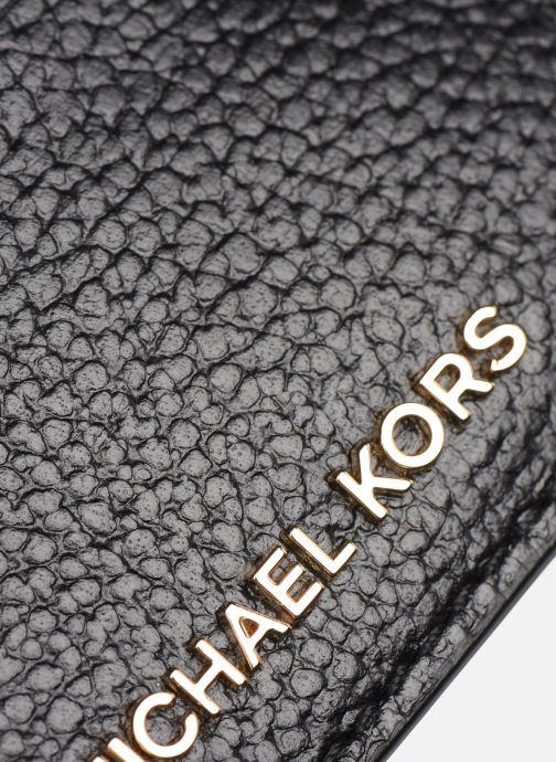 Kleine lederwaren Michael Michael Kors CARD HOLDER Zwart achterkant