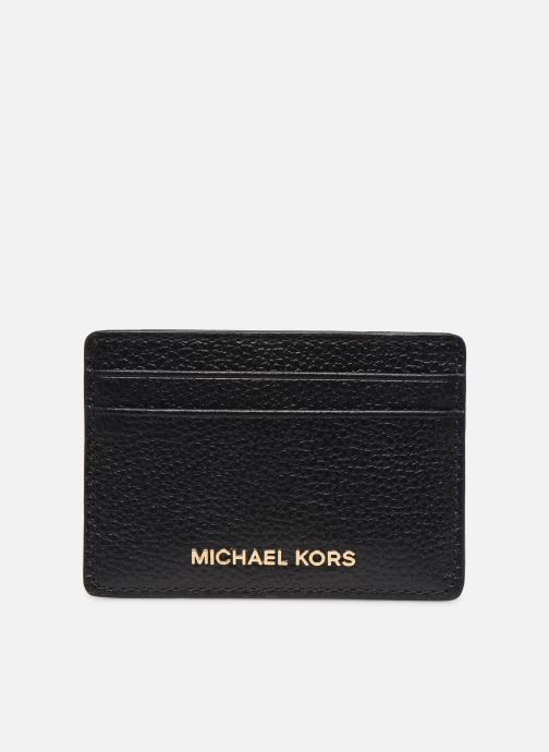 Marroquinería pequeña Michael Michael Kors CARD HOLDER Negro vista de detalle / par