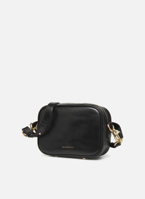 Bolsos de mano Vanessa Bruno HOLLY BODY BAG Negro vista del modelo