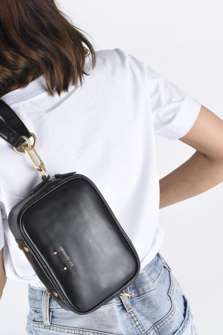 Handtassen Vanessa Bruno HOLLY BODY BAG Zwart onder