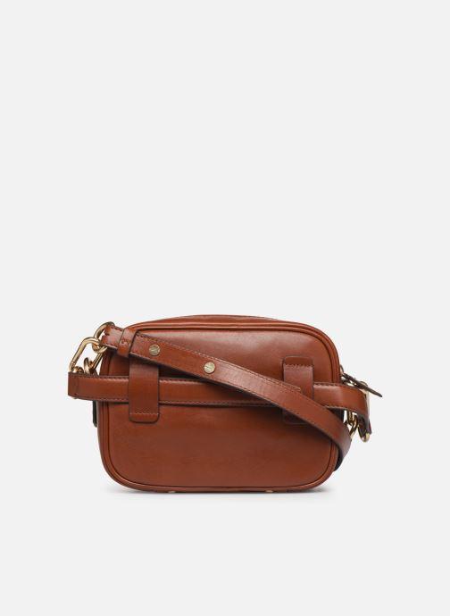 Handtassen Vanessa Bruno HOLLY BODY BAG Bruin voorkant