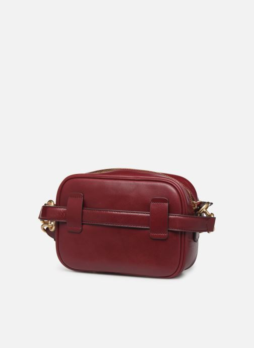 Handtassen Vanessa Bruno HOLLY BODY BAG Bordeaux rechts