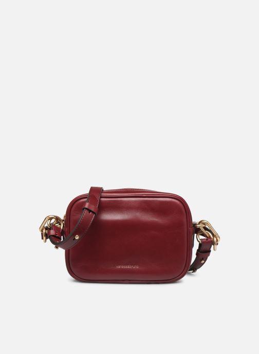 Handtassen Vanessa Bruno HOLLY BODY BAG Bordeaux detail