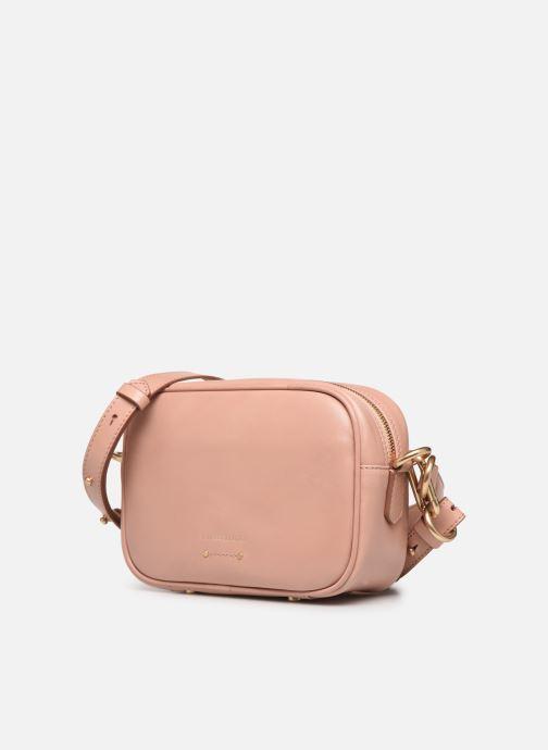 Borse Vanessa Bruno HOLLY BODY BAG Rosa modello indossato